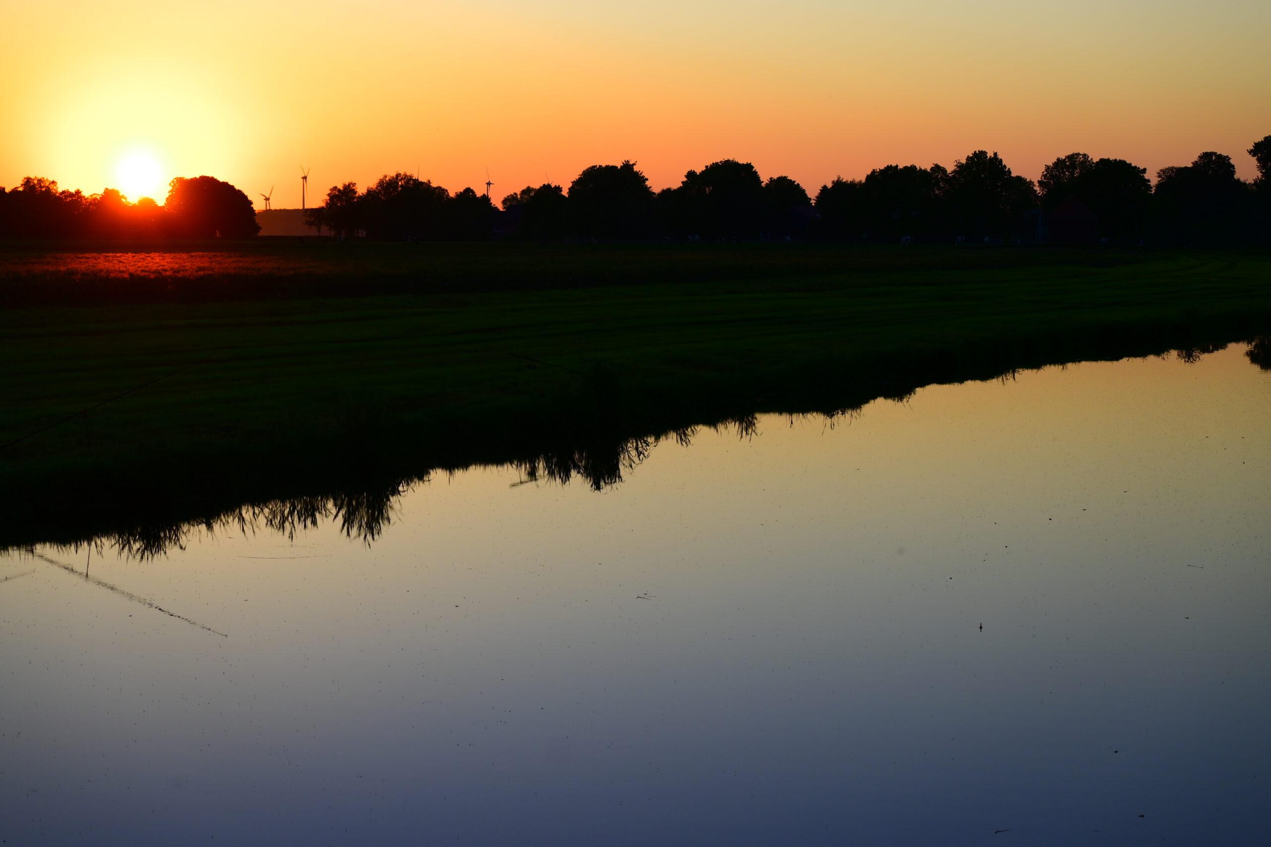 Sonnenuntergang Jade
