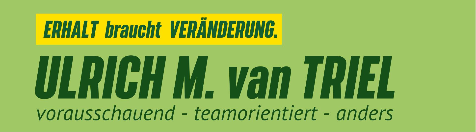 Logo Ulrich van Triel Sonnenblume