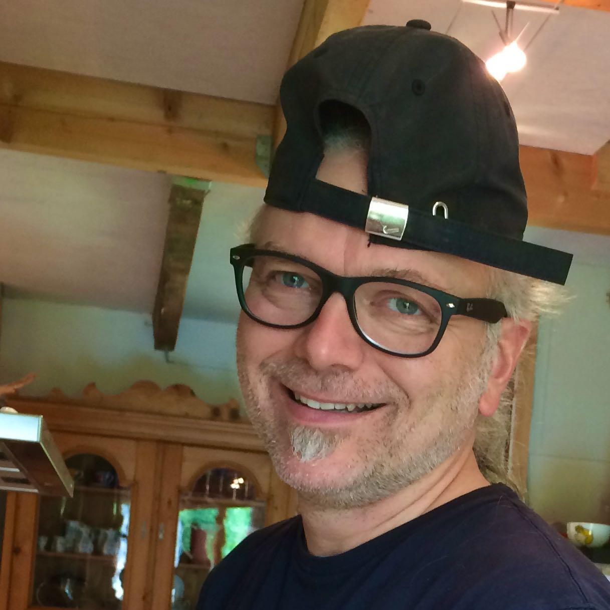 Ulrich van Triel mit Mütze