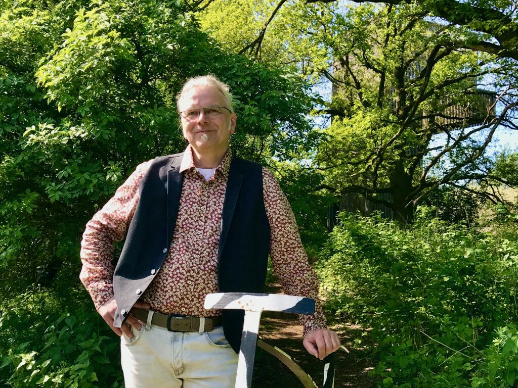 Ulrich van Triel in der Natur